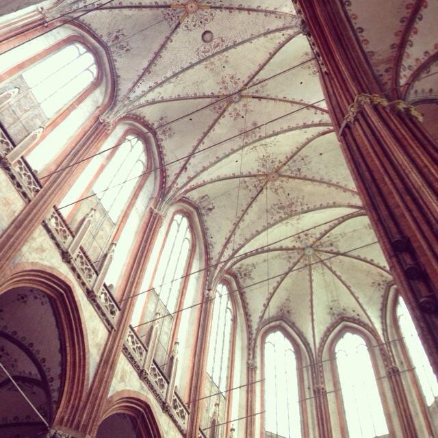 Ferienbilder des Tages, Himmelsgewölbe, Lübeck