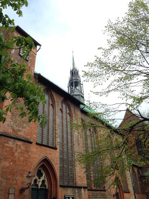 Ferienbilder des Tages, Lübeck, Kirchen, Gotik, Aussichtsturm