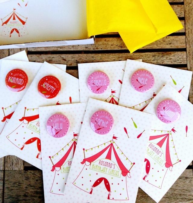 Papierliebling, Einladungskarten, Birthday Circus, Zirkusgeburtstag