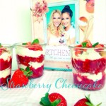 Strawberry Cheesecake im Glas, Muttertag, Dessert, Rezept, Törtchenzeit