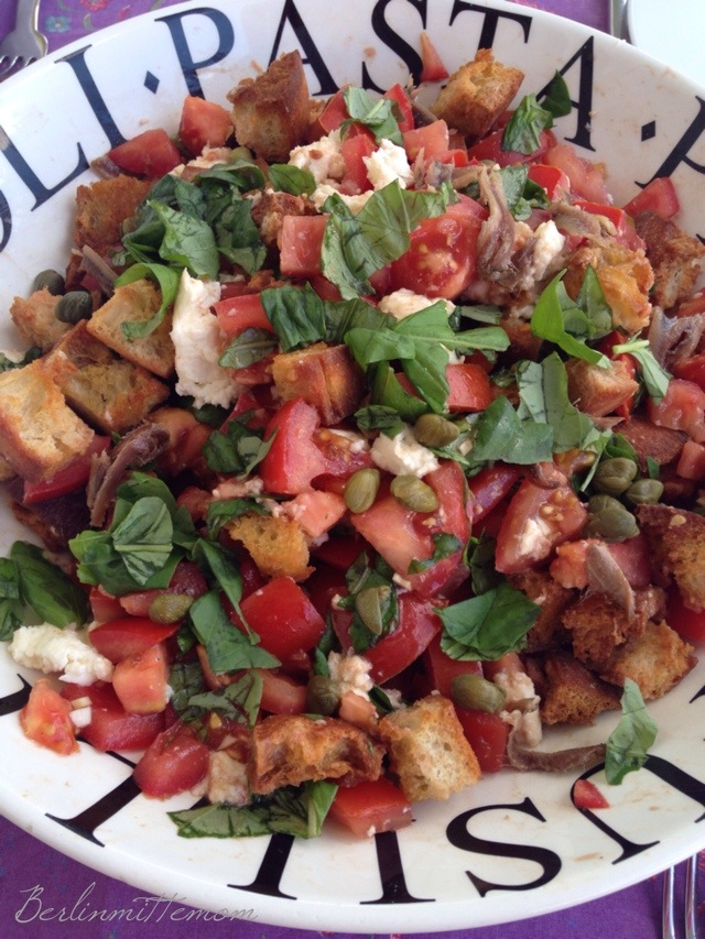 Wochenende in Bildern, pic of the day, Foto des Tages, Instaweekend, Panzanella, homemade