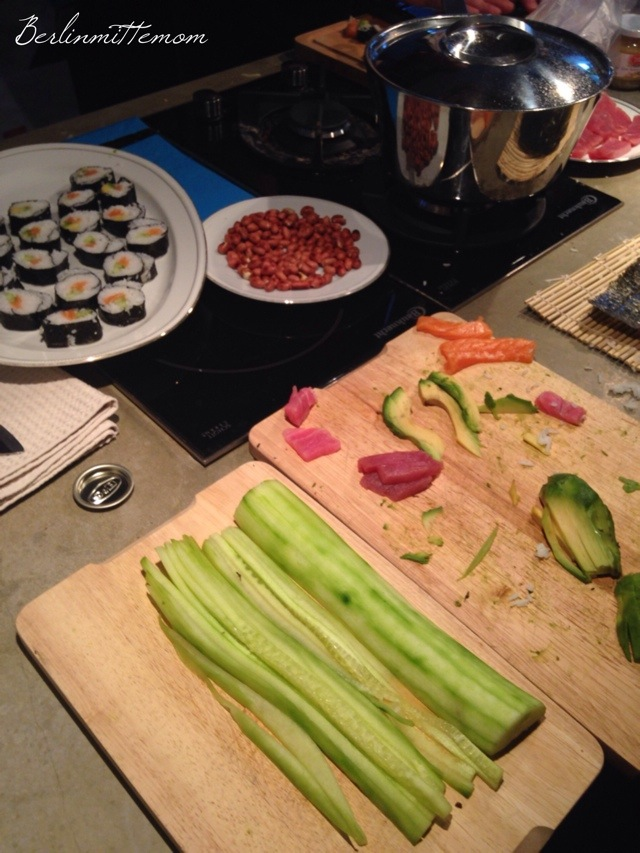 Wochenende in Bildern, pic of the day, Foto des Tages, homemade Sushi