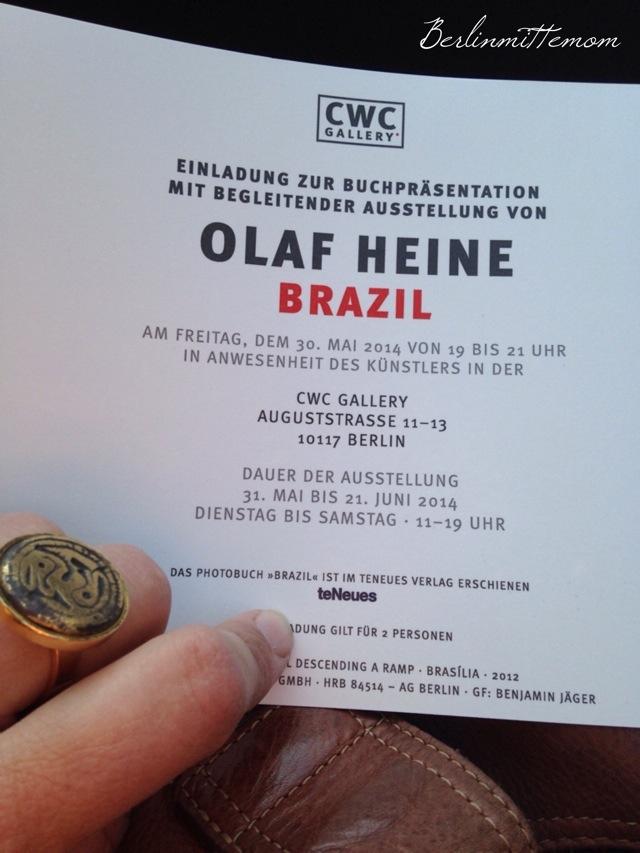 Wochenende in Bildern, Olaf Heine, Book Release Party