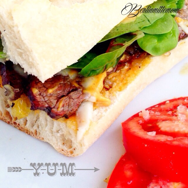 Steak Sandwich, Jamie Oliver, Rezept