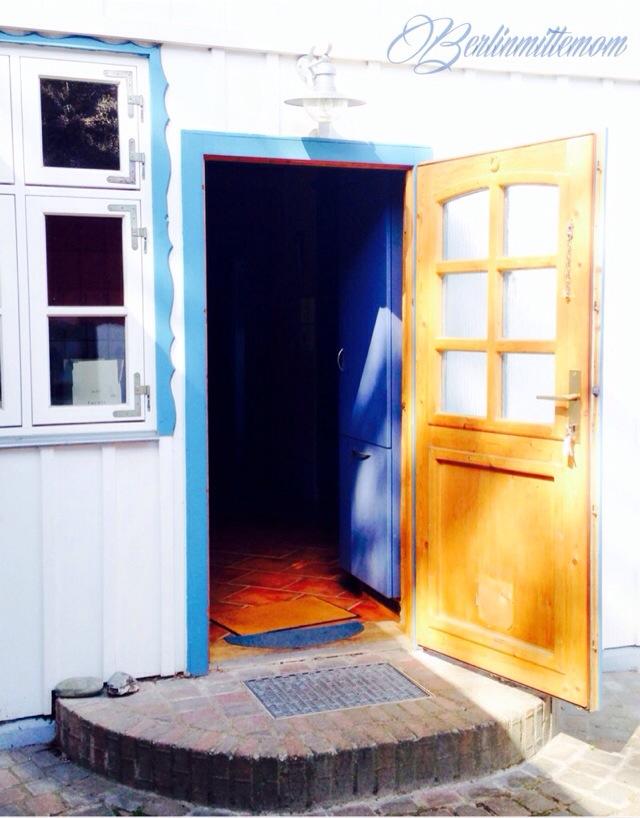 photo diary, Ostsee, Darß, Tür, Reetdach, Sommerferien