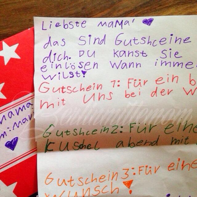Photo Diary, Geburtstagsbrief, Kinder, Brief an meine Mama