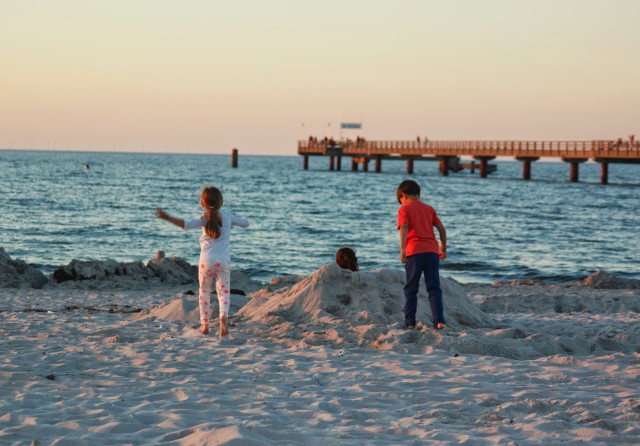 Sommerpause, Blogpause, Ostsee, Seebrücke