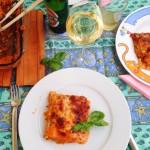 soulfood bei regenwetter ::: lasagne mit parmesan, sellerie und möhren