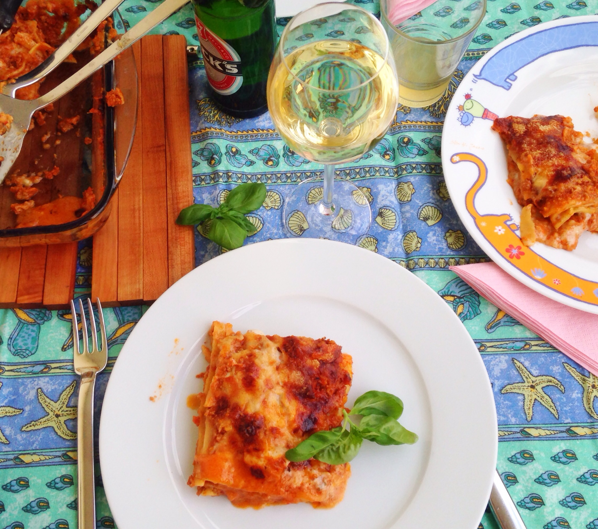 Lasagne mit Parmesan, Rezept