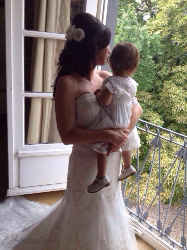 Hochzeitswochenende, Wedding weekend, Brautkleid