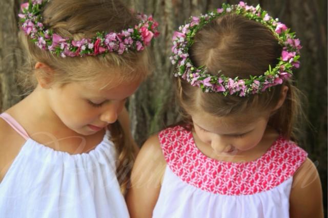 Hochzeitswochenende Wedding weekend, Blumenmädchen