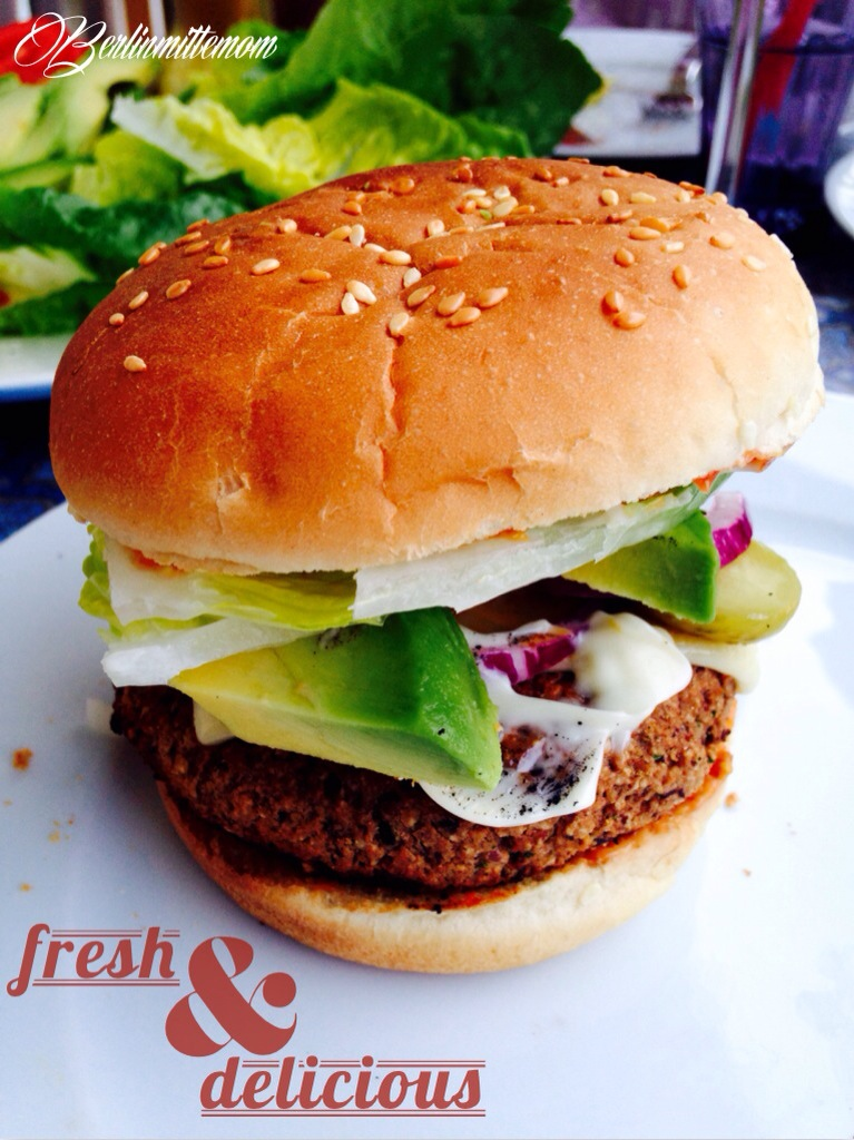 Veggie Burger Rezept, vegetarische Grillrezepte