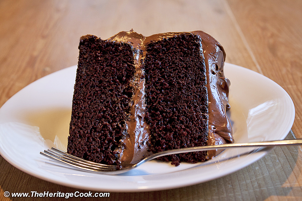 Medienerziehung mit Kindern, Double Layer Chocolate Cake