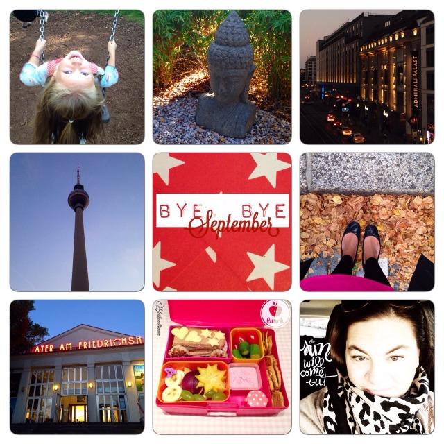 Monatsrückblick in Bilder, Fotos des Monats, bye bye September