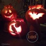 boo! ::: kürbisse schnitzen mit kindern zu halloween