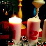 dankbarkeit statt sachen tag 2 ::: buntes badewasser & weihnachtsmojo