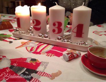 Dankbarkeit statt Sachen, meine Familie ist meine Gang, Kochen für Freunde, zweiter Advent