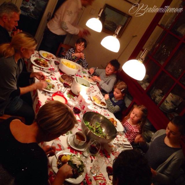 Dankbarkeit statt Sachen, meine Familie ist meine Gang, Kochen für Freunde