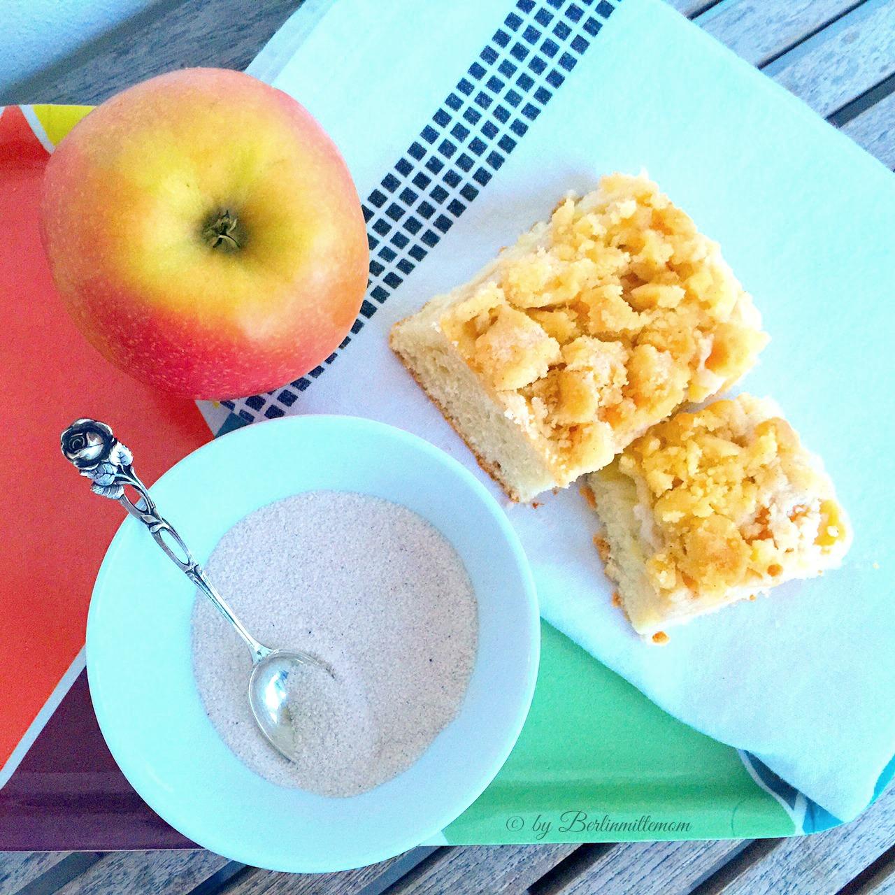Apfel Streuselkuchen Mit Zimt Was Ich So Mache Mit Kranken