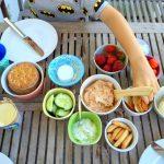 tomatenfrischkäse und sommerpicknick ::: abendbrot für kleine genießer