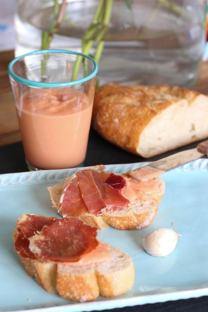 Salmorejo, Rezept, Sommerliebe, Frühstück bei Emma