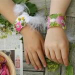 blumige armfreuden ::: sommerliebe – diy mit frau heuberg