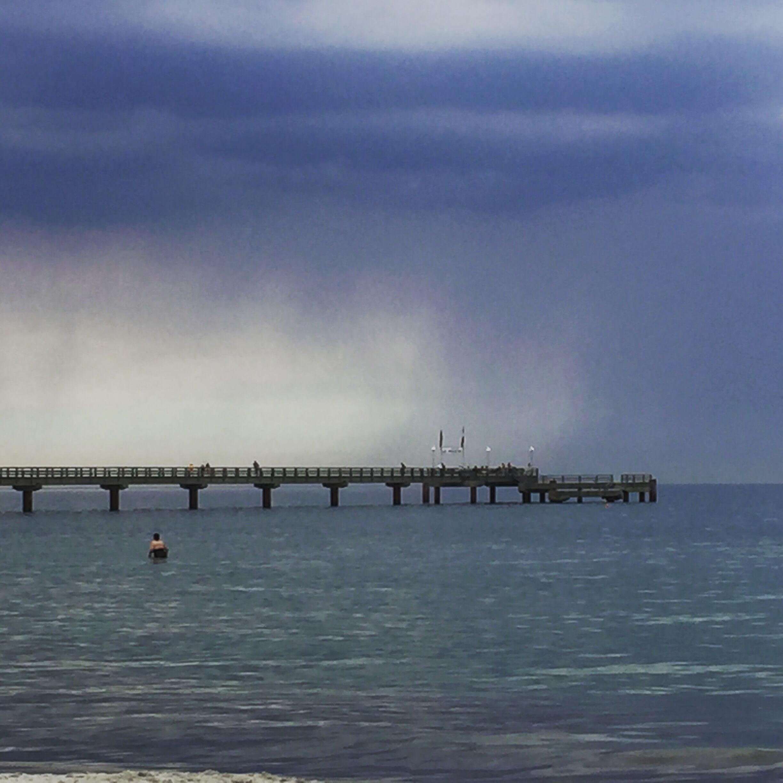 Darss 2015, Familienurlaub, Ostsee, Seebrücke