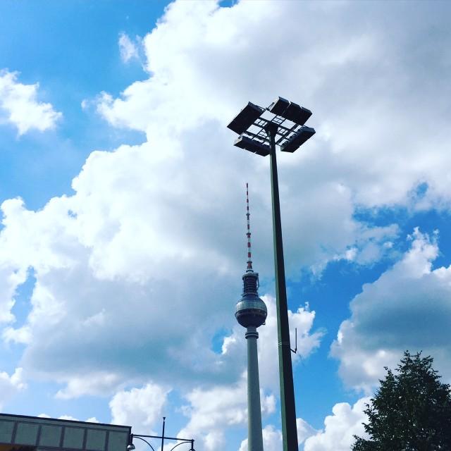 12 von 12, Tvtower, Berlinskies, Telespargel, Fernsehturm