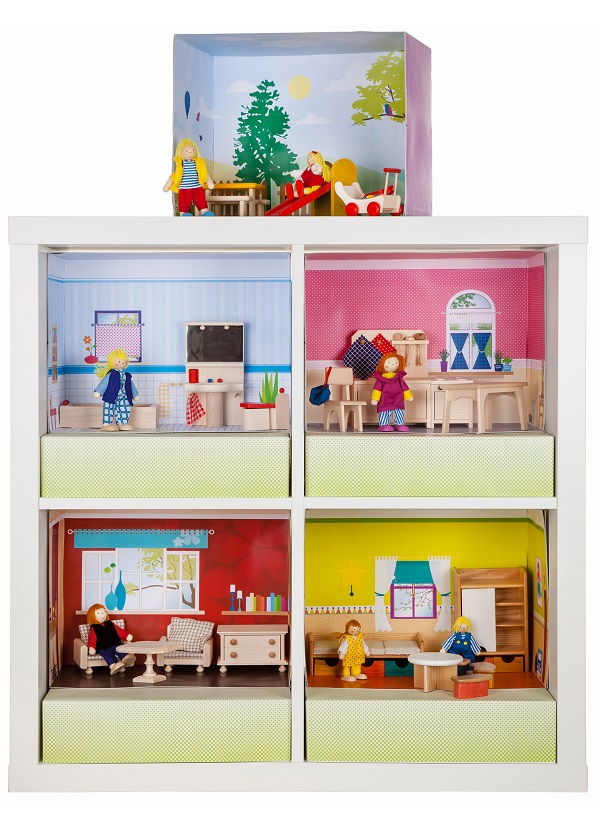 Ikea hacks f rs kinderzimmer giveaway mit new swedish design werbung berlinmittemom - Ikea puppenhaus mobel ...