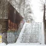 wochenende in bildern ::: fußbodenpicknick, übernachtungsparty & wintereinbruch