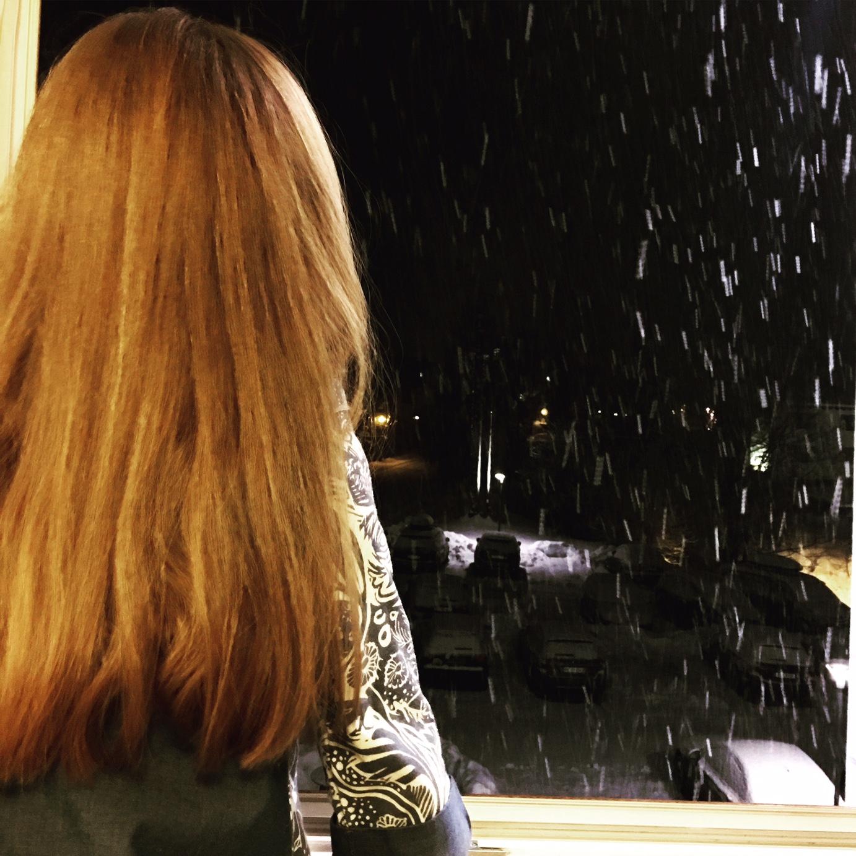 Wochenende in Bildern, Schnee, Goldkind, Schneenacht, Schneeflöckchen