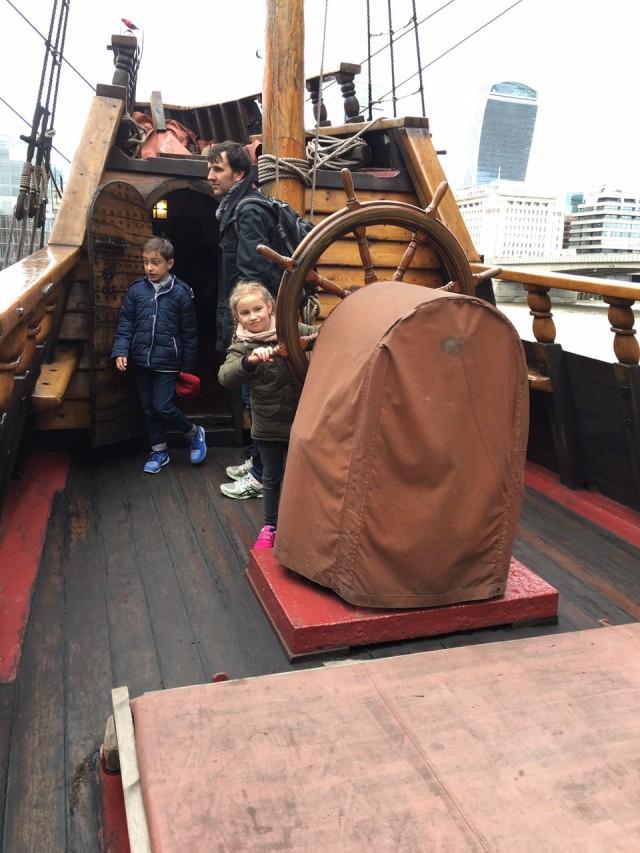 London mit Kindern, Golden Hind, Berlinmittemom, Reisen mit Kindern, Reiseblogger, Mamablog
