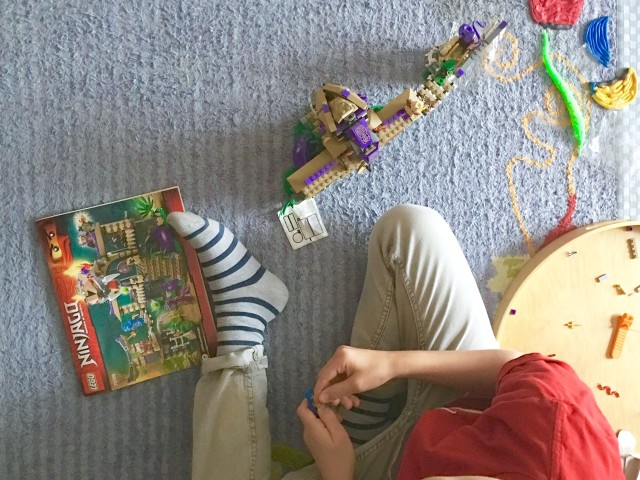 Wochenende in Bildern, Kinder, Lego, Ninjago, Lebenmitkindern