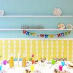 porzellanmalerei, schwungtuch & stockbrot ::: kindergeburtstag im knutselwinkel