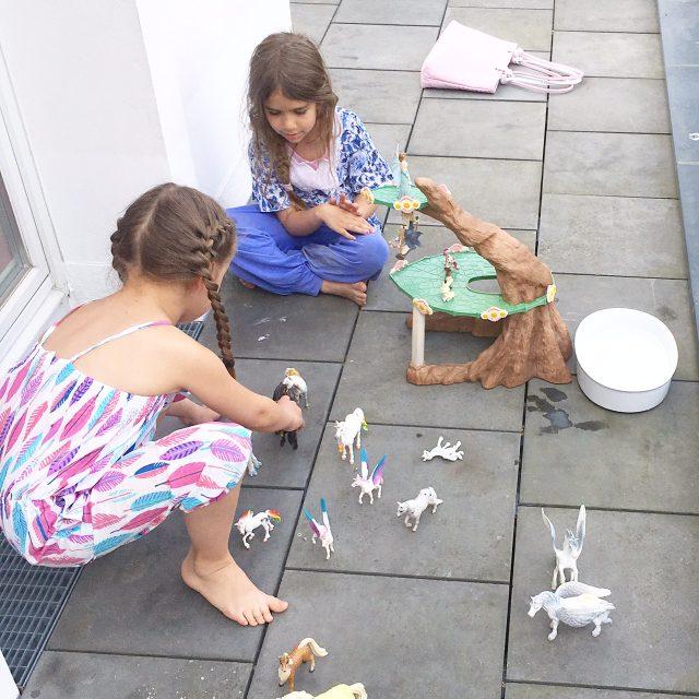 Wochenende in Bildern, Spielen, Familienleben, Leben mit Kindern, Sommer in der Stadt