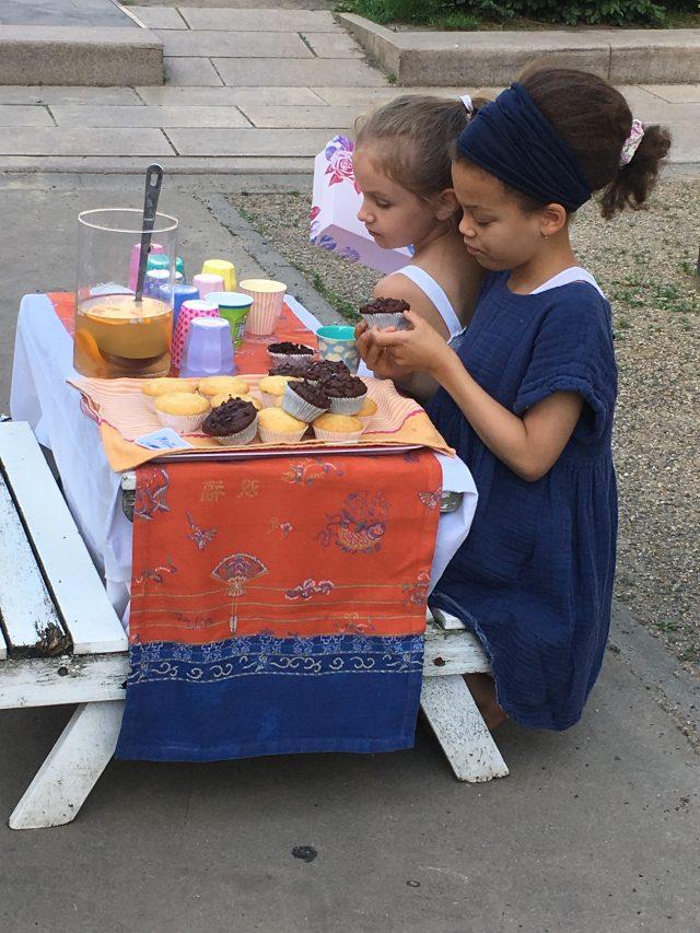 Wochenende in Bildern, Mamablog, Leben mit Kindern, Elfenkindberlin liebt Berlinmittemom, Muffinstand, Orangensirup, Limonadenverkauf, Pop Up Store,