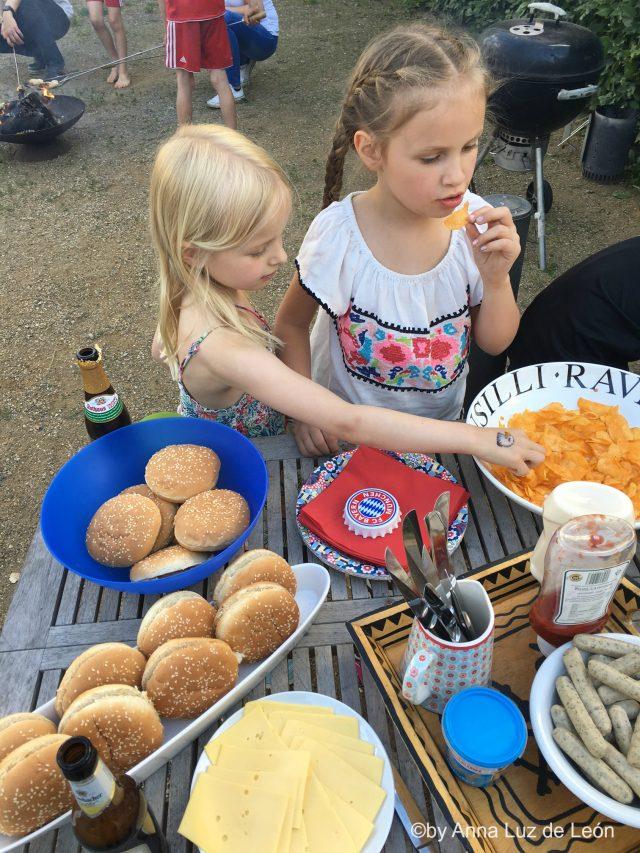 Fußballgeburtstag, Kindergeburtstag, Park, Wochenende in BIldern, Leben mit Kindern
