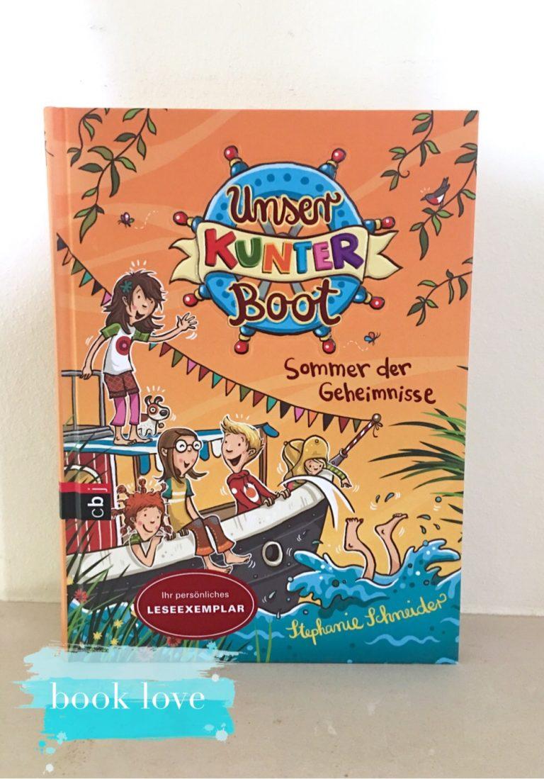 Booklove, Buchtipp, Kinderbuch, Vorlesen, Sommerlektüre, Lesespaß, Kunterboot,
