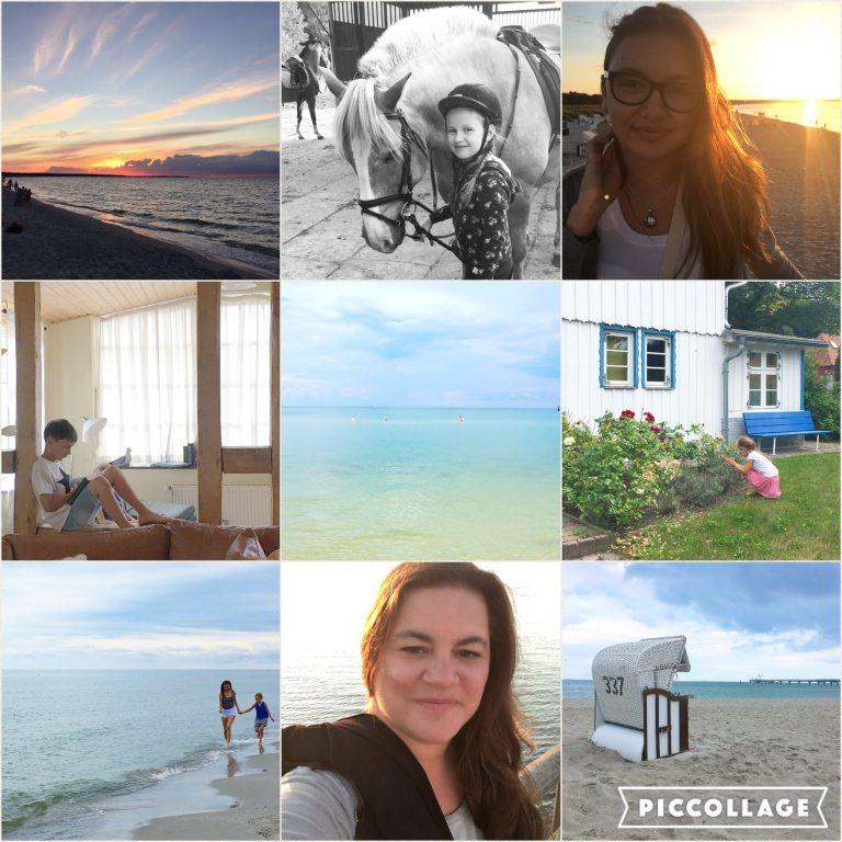 Strand, Collage, Beachlife, Strandleben, Wochenende in Bildern, Ostsee, Darss, Ferien, Leben mit Kindern, Reisen mit Kindern, Familienferien, Tipps, Reisetipps, Travelblog, Reiseblog, Mamablog, Mamablogger