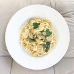 köstlich und familientauglich ::: schnelle pasta mit zucchini und rosmarin
