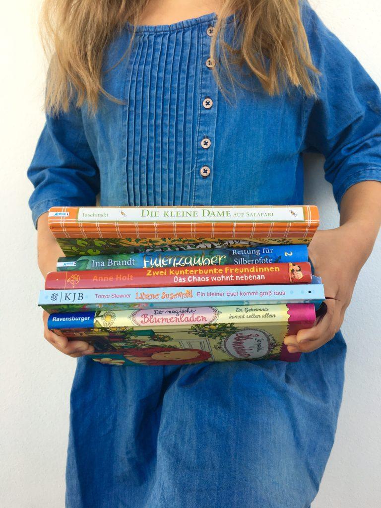 5 Buchtipps für Kinder, 7jährige, Mädchen, Lesetipps, Bücher, Kinderbücher, Erstleser, 2. Klasse, Book Love, Lieblingsbücher