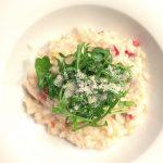 alles aus einem topf ::: lieblings-risotto mit tomaten und pilzen