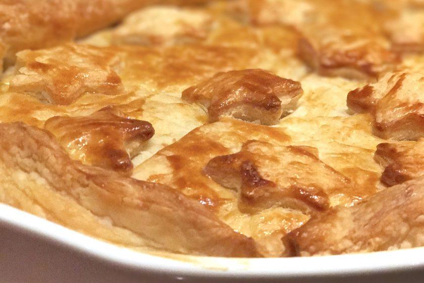 Blätterteig, Pastete, Blätterteigpastete, Auflauf, Winterküche, kochen für Kinder, Familienküche, Familienkochbuch, kochen ist Liebe