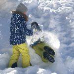 sonne, schnee und schlittenfahren ::: wochenende in bildern
