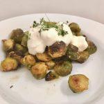 Große Gemüseliebe aus dem Ofen ::: Gerösteter Rosenkohl vom Blech