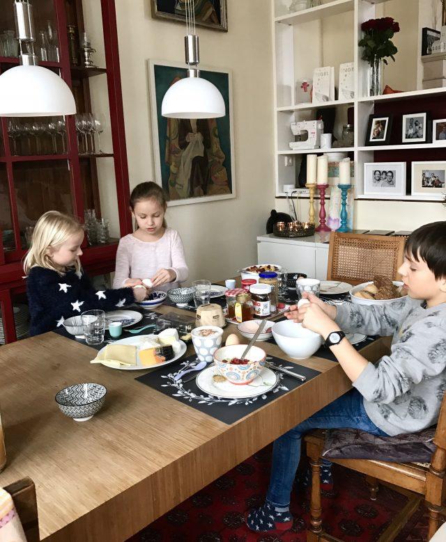 Sonntagsfrühstück mit den Kindern | Berlinmittemom.com