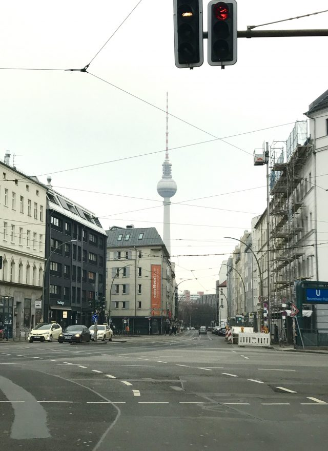 Fernsehturm am Rosenthaler Platz
