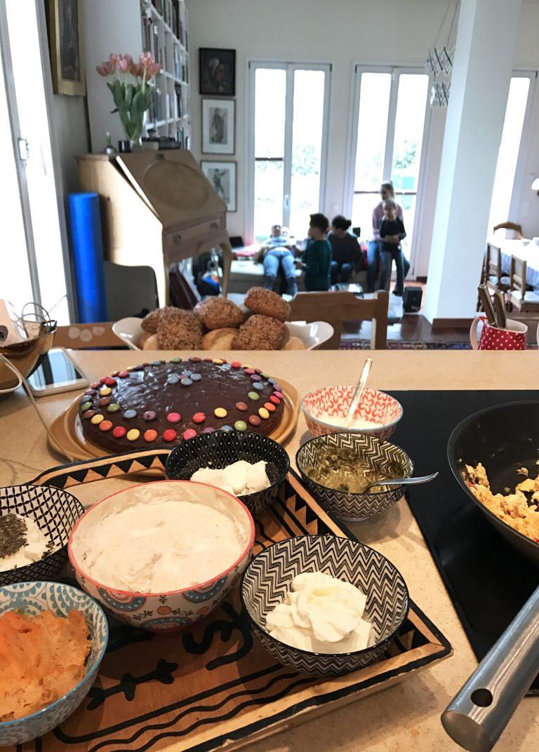 Frühstücksbüffet zu Hause | Berlinmittemom.com