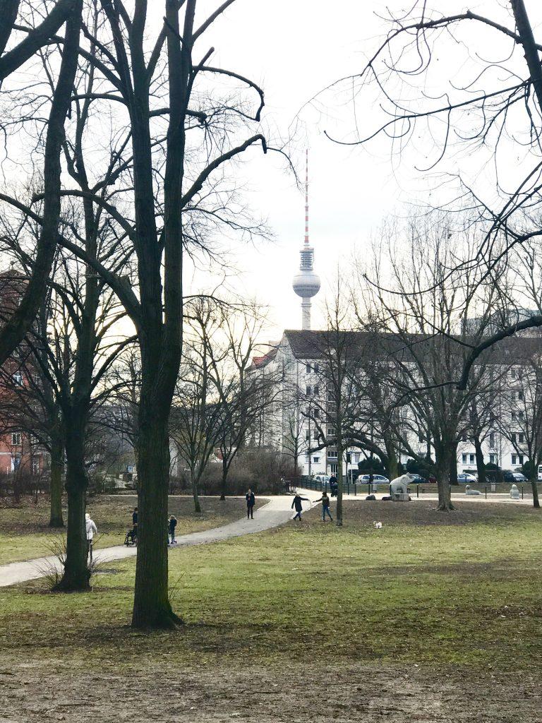 Blick auf den Fernsehturm |Berlinmittemom.com