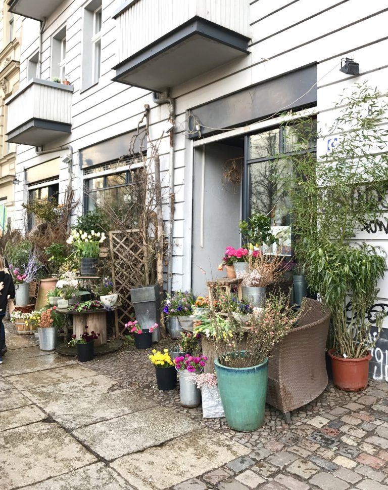 Blumenladen an der Marie im Prenzlauer Berg, Berlin |Berlinmittemom.com